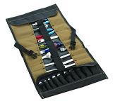 32ポケットソケットのツールロール袋の小形用具袋