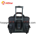 Sacchetto di rotolamento resistente del carrello della valigia attrezzi dell'elettricista con le rotelle