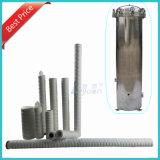 Bestes Qualitätssediment Garn-Wasser-Kassetten-Filter 1 Mikron-pp. für Wasserbehandlung-Abwechslung