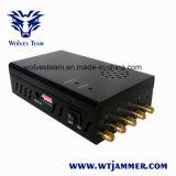 GPS portátil seleccionável Lojack Sinal telemóveis 3G Jammer