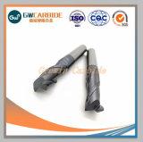 高精度の固体炭化物の切削工具の端製造所HRC45-70