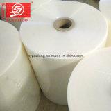 Usine enveloppement d'alimentation de film étirable à bas prix les rouleaux de film étirable plastique Jumbo en Shen Zhen fabricant