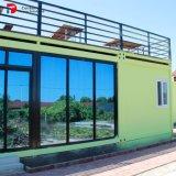 プレハブのショッピング生存20FT容器の家