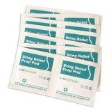 Médicos de cuidados en el exterior el nombre del producto es fácil llevar alivio de la picadura de la almohadilla de preparación para el cuidado de herir al aire libre