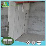 Painel de parede do sanduíche do EPS da estabilidade do entalhe e do sulco para o edifício