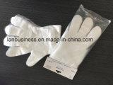 Китай Складские запасы фабрики Hotsale для одноразовых PE/CEP/пластиковые защитные перчатки