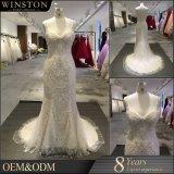 De nieuwe Kleding van het Huwelijk van de Parel van de Manier van het Product van de Aankomst In het groot Mooie Witte