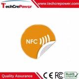 Collant personnalisé de tag RFID de l'impression Paper/PVC avec NFC EV1 ultra-léger