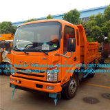 T-King Left Drive Diesel Tipper Truck 5t Light Dump Truck