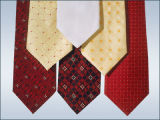 Cravatta tessuta seta