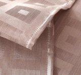 Морщинк-Упорный водоустойчивый твердый занавес ливня ванной комнаты 100%Polyester (01S0082)