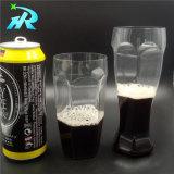 vidrio de cerveza plástico 500ml