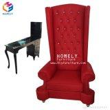 A cadeira da massagem do pé do conforto para TERMAS Pedicure do salão de beleza da beleza não preside nenhum encanamento