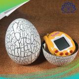 O teste padrão virtual eletrônico das rachaduras da máquina dos animais de estimação cresce máquina Handheld dos animais de estimação do ovo da rachadura da máquina de jogo dos miúdos do brinquedo do bebê do Tumbler do ovo