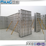 Uma forma concreta de alumínio/alumínio descofragem