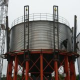 Niedrigster Preis-gewellter galvanisierter Metallstahlkorn-Silo