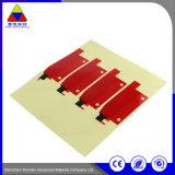 Kundenspezifische schwarze Druckpapier-anhaftende Aufkleber für schützenden Film