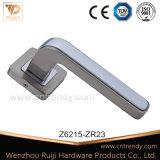 고품질 아연 합금 로즈 (z6387-zr23)에 내부 문 손잡이