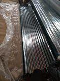 Gi/цинкового покрытия/оцинкованный гофрированный стальной лист для производства строительных материалов