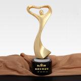Hermoso baile Premio Trofeo de cristal de vidrio de grabado láser en bloque con el bailarín de Ballet