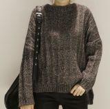 Chandail tricoté desserré de production initiale avec plus profondément pour l'hiver