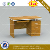 Bureau droit d'ordinateur de personnel stratifié par cpc de rectangle (HX-8NE013C)
