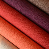 tessuto di tela del sofà della tintura della parte 300GSM da colore grigio