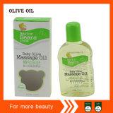 Después de petróleo verde oliva del masaje del bebé del baño