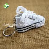 PVC souple caoutchouc Sneaker anneaux clé 3D