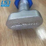 La forte demande forgée en acier inoxydable T le boulon à tête de marteau avec écrou