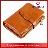 Мода дамы из натуральной кожи бумажники/кошелек в карман для мелочи