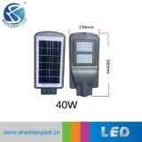 40W indicatore luminoso di via solare Integrated tutto compreso del giardino LED