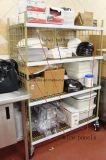 Шкаф хранения кухни оборудования 4 полок 150kg новой конструкции сверхмощный регулируемый коммерчески