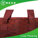 Eco Friendly Promotion polyester rouge Sac cosmétique
