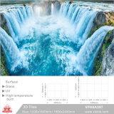 建築材料(VPA6A123、1200X1800mm、1800X2400mm)のためのセラミックタイル3Dの芸術の背景