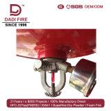 Sistema de supresión de fuego del extintor del polvo del producto químico seco del ABC
