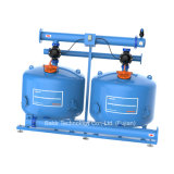 Het dubbele Systeem van de Filter van de Media van het Zand van de Kamer voor de Behandeling van het Water