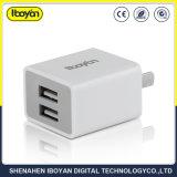 Aprobado ce RoHS rápido de doble puerto USB cargador de teléfono móvil de Samsung