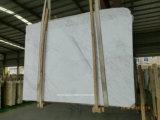 Lastra Polished bianca del marmo della corrispondenza di libro di Volakas Ajax per il controsoffitto della parete