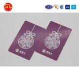 Smart card do cartão em branco de Ntag RFID Nfc com código de barras
