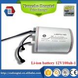 constructeur solaire de batterie Li-ion de réverbère de 12V 100ah