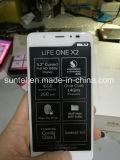 Новая индикация LCD черни на голубая жизнь одно X2
