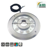 316 Stainless Steel 24V RGB LED Fountain Underwater Lamp