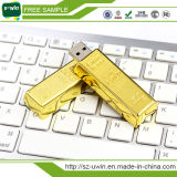 Muestra gratuita de 8GB OEM unidad Flash USB de oro