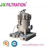 Acero inoxidable 304 Caja de filtro de bolsa de líquidos industriales