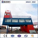 Het demonteerbare Uitzetbare Huis van de Container van 20 voet voor KleinhandelsWinkel