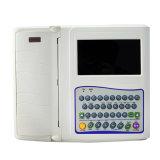 Portable des 12 Manche 7 machine d'affichage à cristaux liquides Digitals ECG de couleur de pouce--Javier