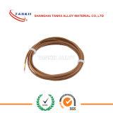 Тип кабель j термопары 20AWG с braided стеклотканью