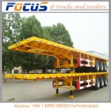 40FT en 20FT Semi Aanhangwagen van de Container van China Flatbed