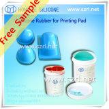 Preço barato da borracha de silicone líquida para almofadas do silicone
